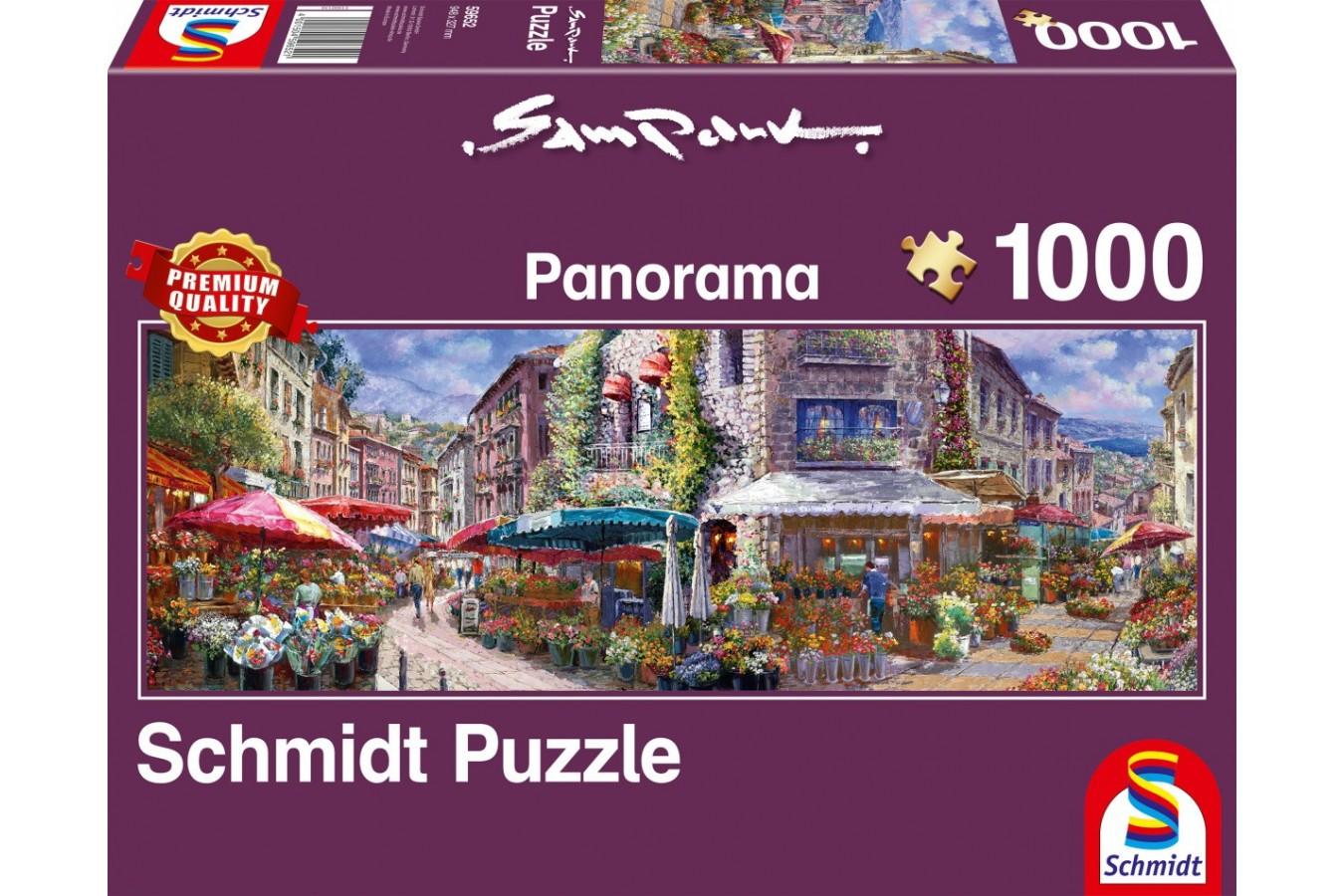 Puzzle Schmidt - Sam Park: Spring In The Air, 1000 piese (59652)