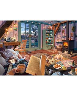 Puzzle Schmidt - Steve Read: At The Holiday Home, 1.000 piese (59655)