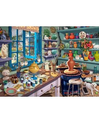 Puzzle Schmidt - Steve Read: Artist Studio, 1.000 piese (59656)