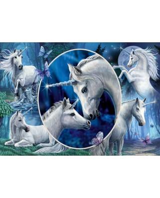 Puzzle Schmidt - Lisa Parker: Charming Unicorns, 1.000 piese (59668)
