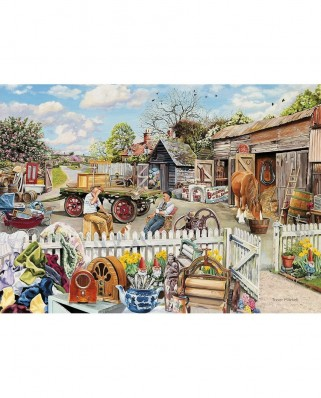 Puzzle Gibsons - Rag and Bone, 4x500 piese (12202)