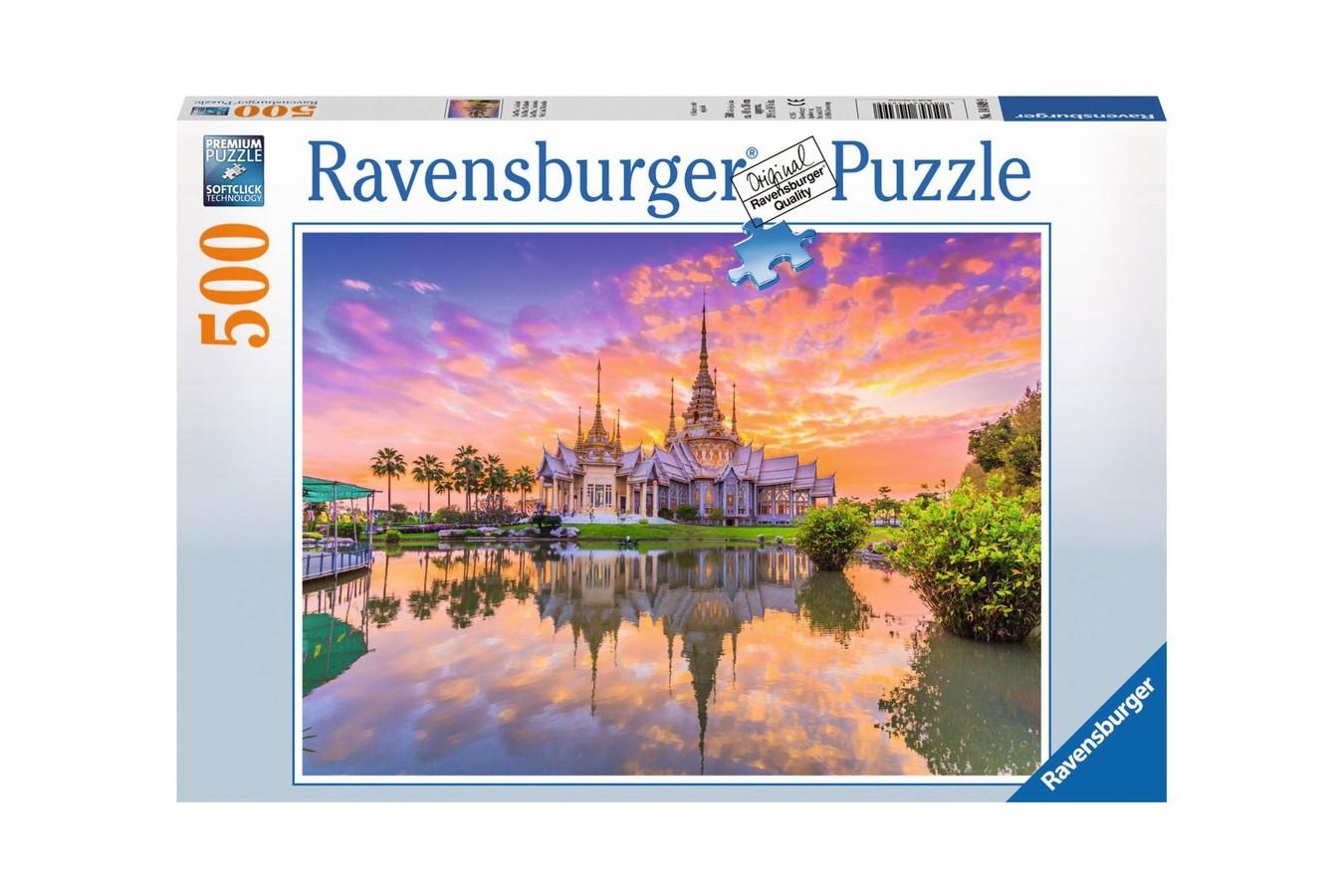 Puzzle Ravensburger - Apus De Soare, 500 piese (14649)