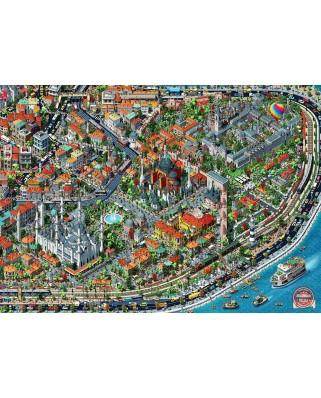 Puzzle Anatolian - Fractal Istanbul, 3.000 piese (ANA.4913)