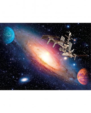 Puzzle Clementoni - International Space Station, 500 piese (35075)