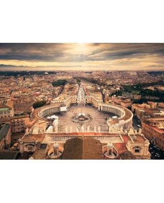 Puzzle Ravensburger - Rome, Italy, 1000 piese (14082)