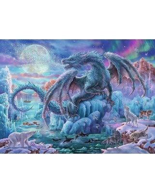 Puzzle Ravensburger - Ice Dragon, 500 piese (14839)