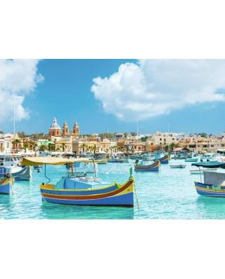 Puzzle Ravensburger - Malta, 1.000 piese (14978)