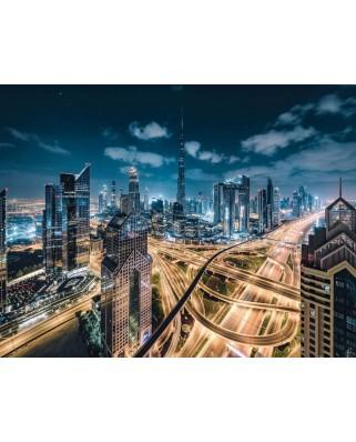 Puzzle Ravensburger - View of Dubai, 2.000 piese (15017)