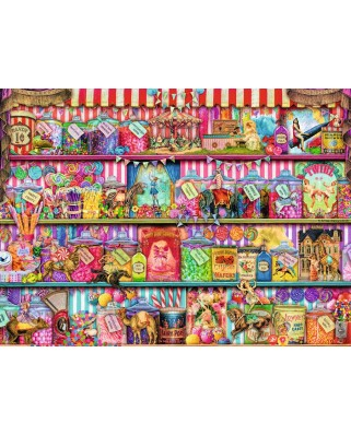 Puzzle Ravensburger - Aimee Stewart: Magazinul De Dulciuri, 500 piese (14653)