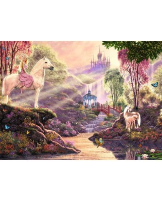 Puzzle Ravensburger - The Magic River, 500 piese (15035)