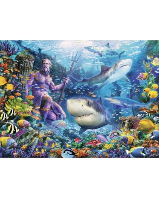 Puzzle Ravensburger - King of the Sea, 500 piese (15039)