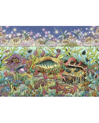 Puzzle Ravensburger - The Underwater World at Twilight, 1.000 piese (15988)