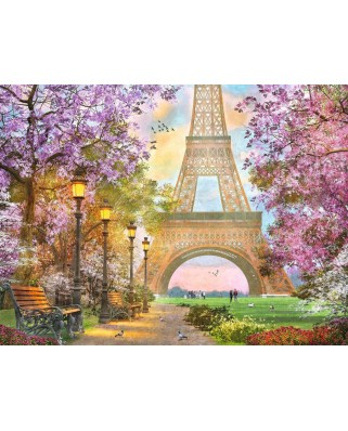 Puzzle Ravensburger - Love in Paris, 1500 piese (16000)