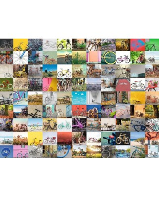 Puzzle Ravensburger - 99 Bikes and More ..., 1500 piese (16007)