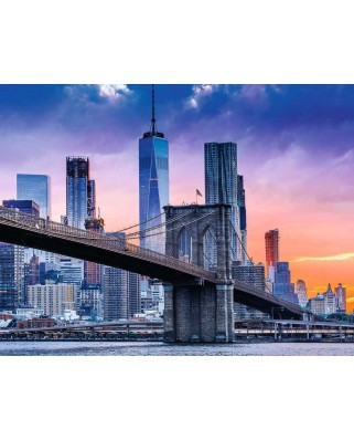Puzzle Ravensburger - From Brooklyn to Manhattan, 2000 piese (16011)