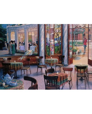 Puzzle Ravensburger - Coffee Break, 1000 piese (16449)