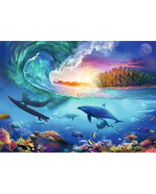 Puzzle Ravensburger - Take the Wave, 1.000 piese (16451)