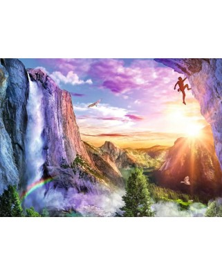 Puzzle Ravensburger - The Climber's Luck, 1000 piese (16452)
