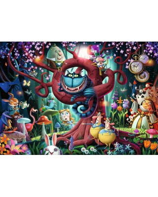 Puzzle Ravensburger - Everyone is Crazy here, 1.000 piese (16456)
