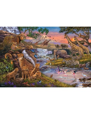 Puzzle Ravensburger - The Animal Kingdom, 3.000 piese (16465)