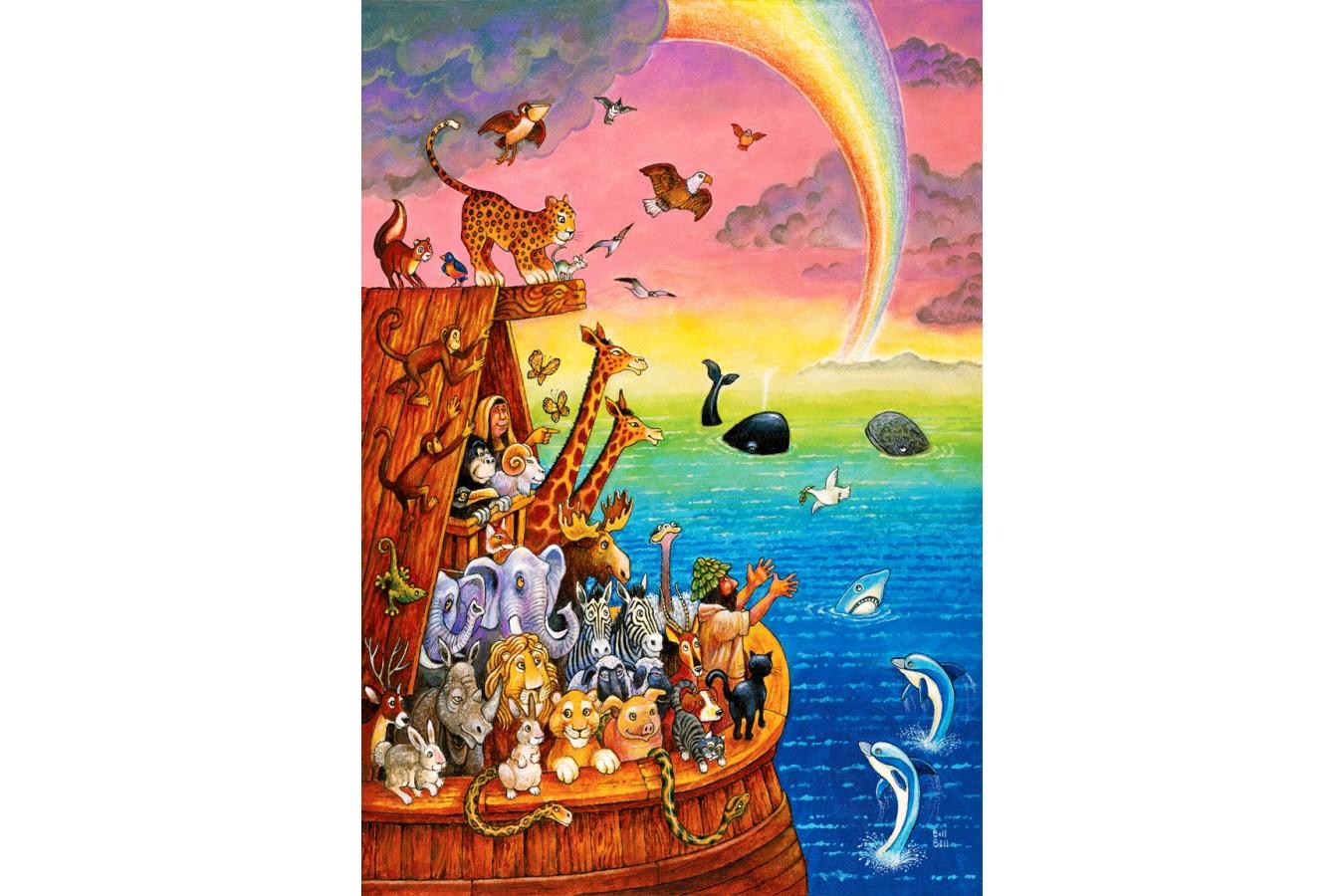 Puzzle Anatolian - Noah & The rainbow, 260 piese (3307)