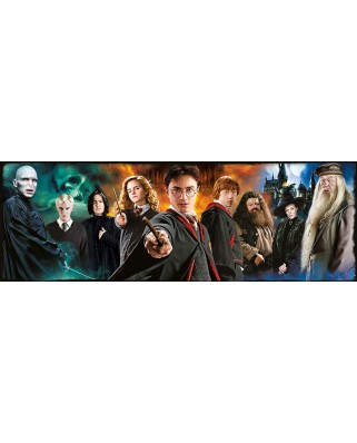 Puzzle panoramic Clementoni - Harry Potter, 1.000 piese (61883)