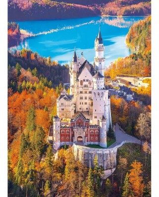 Puzzle Clementoni - Neuschwanstein Castle, 1000 piese (39382)