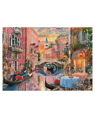 Puzzle Clementoni - Venice at Sunset, 6.000 piese (36524)