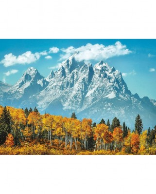 Puzzle Clementoni - Grand Teton in Fall, 500 piese (35034)