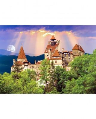 Puzzle TinyPuzzle - Castelul Bran, 99 piese (1000)