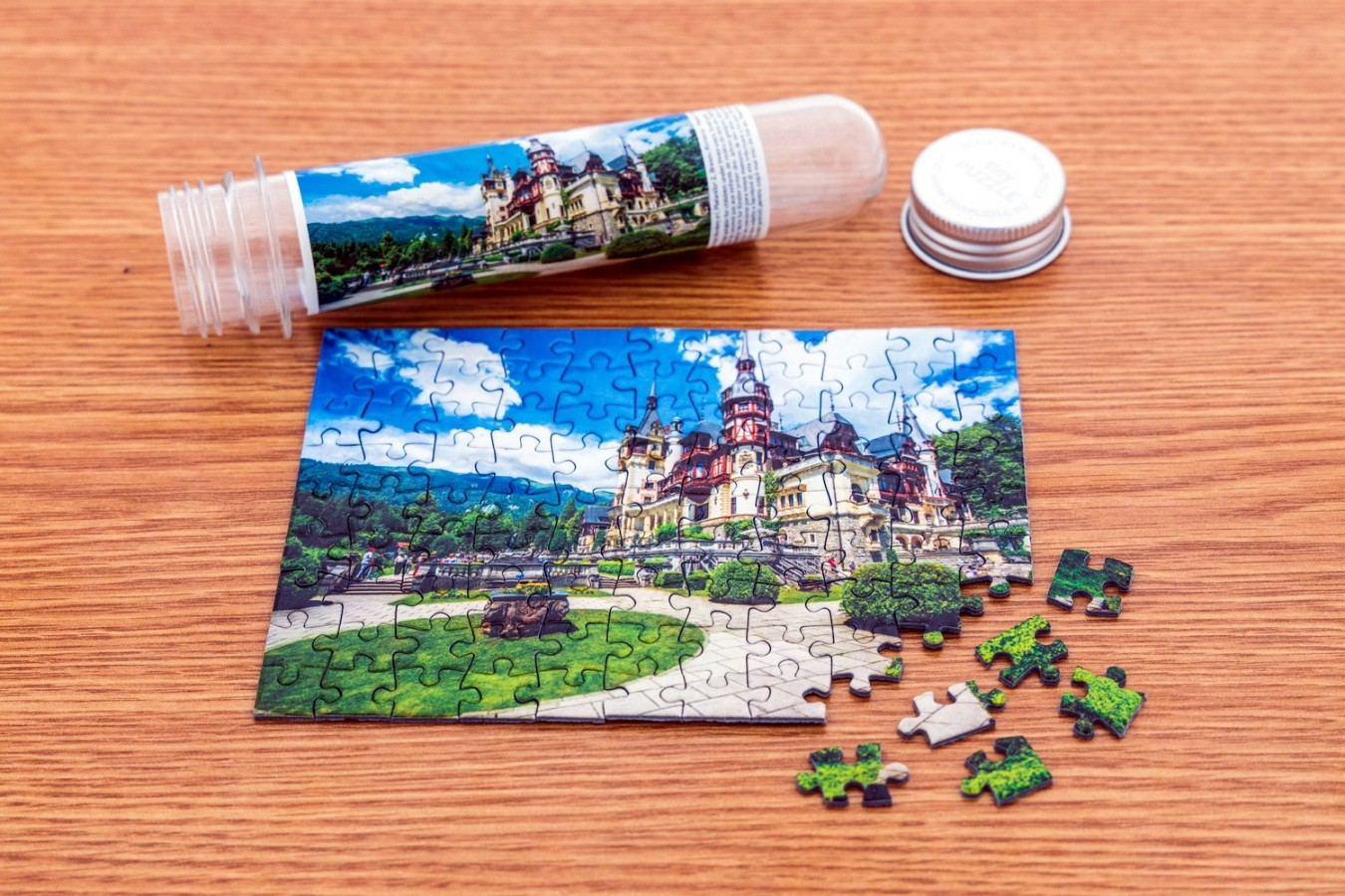 Puzzle TinyPuzzle - Castelul Castelul Peles, 99 piese (1001)