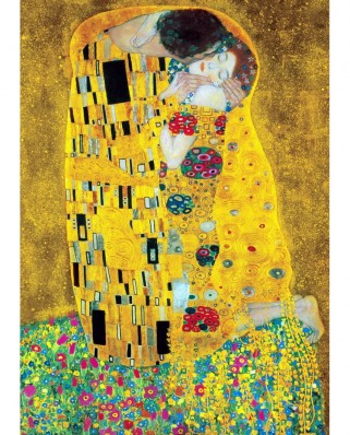 Puzzle TinyPuzzle - Gustav Klimt: The Kiss, 99 piese (1006)