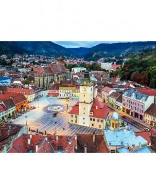 Puzzle TinyPuzzle - Piata Sfatului, Brasov, 99 piese (1009)