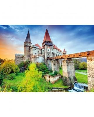 Puzzle TinyPuzzle - Castelul Corvinilor, Hunedoara, 99 piese (1010)