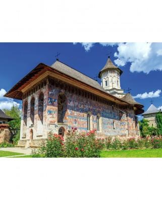 Puzzle TinyPuzzle - Manastirea Moldovita, 99 piese (1012)