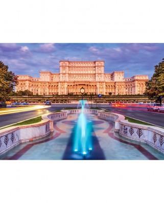 Puzzle TinyPuzzle - Palatul Parlamentului, Bucuresti, 99 piese (1013)