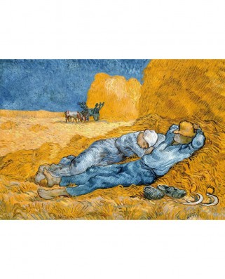 Puzzle TinyPuzzle - Vincent Van Gogh: Noon Rest from Work (Siesta), 99 piese (1017)