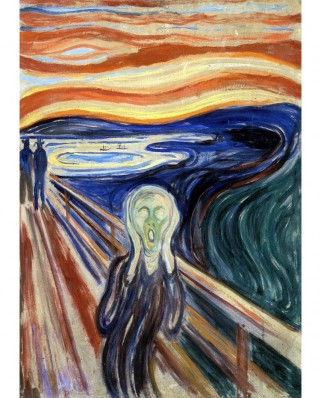 Puzzle TinyPuzzle - Edvard Munch: The Scream, 99 piese (1019)