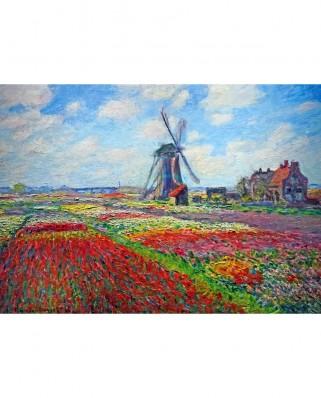 Puzzle TinyPuzzle - Claude Monet: Tulip Fields, 99 piese (1020)