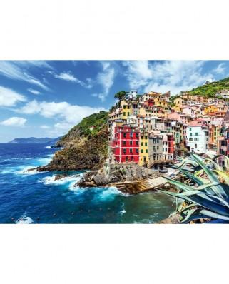 Puzzle TinyPuzzle - Riomaggiore Village, Cinque Terre, Italy, 99 piese (1023)