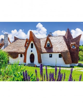 Puzzle TinyPuzzle - Castelul de lut, Porumbacu de Sus, 99 piese (1025)