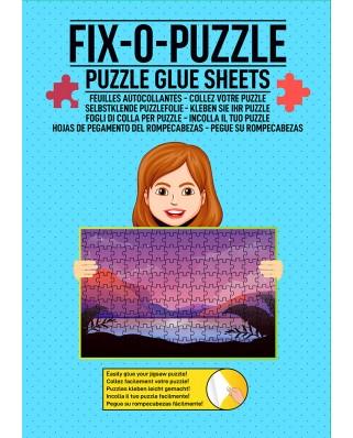Folie pentru lipit puzzle, alba (WLP-4000)