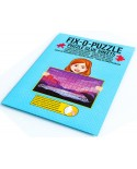 Folie pentru lipit puzzle, alba (WLP-3000)