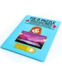 Folie pentru lipit puzzle, alba (WLP-1500)