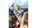 Puzzle Anatolian - Lynn Bean: Howling Wolf, 260 piese (3328)
