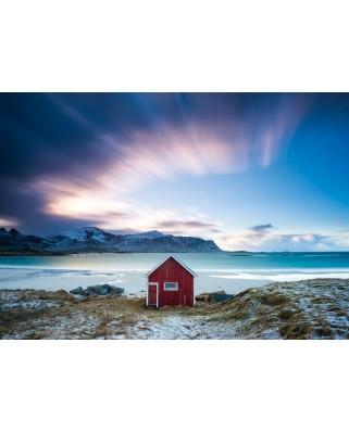 Puzzle Schmidt - Hut At The Atlantic Coast, 1.000 piese (58395)