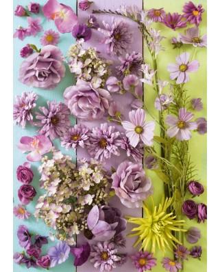 Puzzle Schmidt - Violet Blossoms, 1.000 piese (58944)