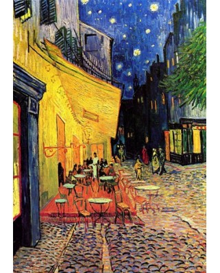 Puzzle Gold Puzzle - Vincent Van Gogh: Cafe Terrace at Night, 1000 piese (Gold-Puzzle-60539)