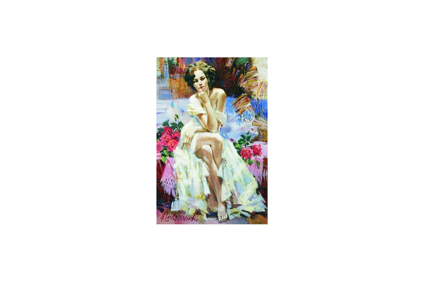Puzzle Gold Puzzle - Roses, 1500 piese (Gold-Puzzle-61055)