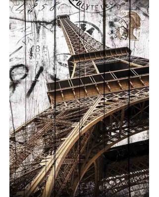Puzzle Gold Puzzle - Vintage Eiffel Tower, 2.000 piese (Gold-Puzzle-61451)